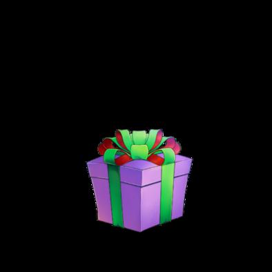 不思議なプレゼント(紫)の画像