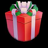 不思議なプレゼント(赤)の画像