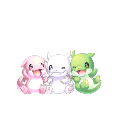 三つ子ドラゴンの画像
