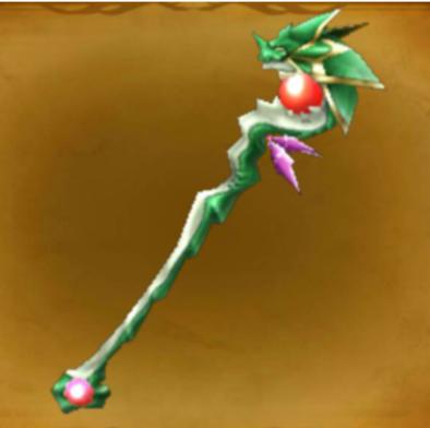 ドラゴンの杖の画像