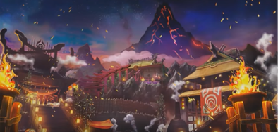ドラクエ11のホムラの里の画像